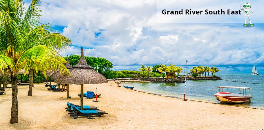 Statiunea Grand River South East Mauritius