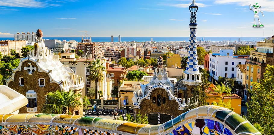Parcul Guell Barcelona