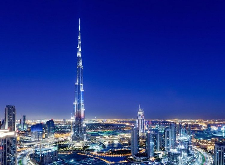Burj Khalifa Level <br>124 'At the Top'