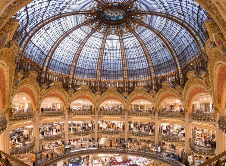 Galeries Lafayette Parisian Shopping Experience
